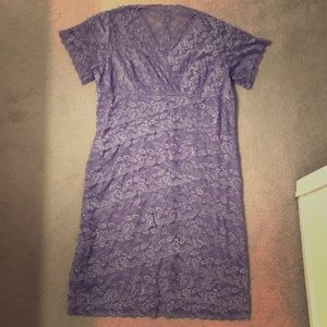 Light purple lace dress